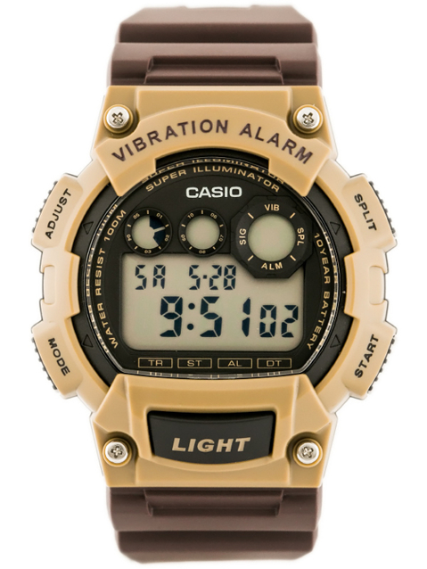 CASIO W-735H 5AV (zd081d) - Super Illuminator