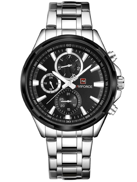 NAVIFORCE - NF9089 (zn065c) - silver/black
