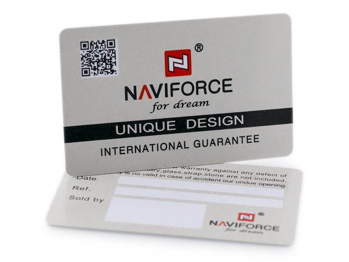 NAVIFORCE - NF9109 (zn064d) - black/rosegold