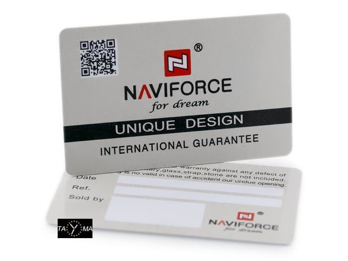 NAVIFORCE - NF9118 (zn054a) - black/silver