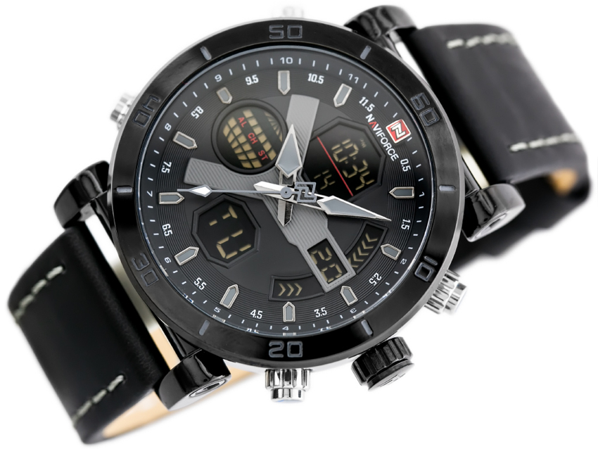 NAVIFORCE - NF9132 (zn073b) - black/grey + box