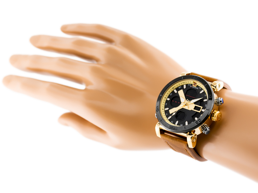 NAVIFORCE - NF9132 (zn073c) - brown/gold + box