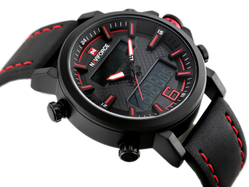NAVIFORCE - NF9135 (zn076c) - black/red + box