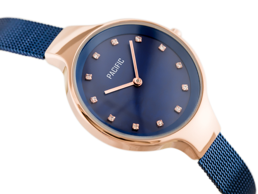 PACIFIC 6009 (zy596e) - blue/rosegold