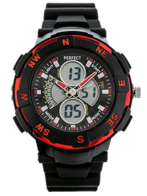 PERFECT SHOCK - black/red (zp158c)