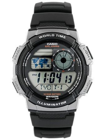 CASIO AE-1000W 1AV (zd073a) - WORLD TIME