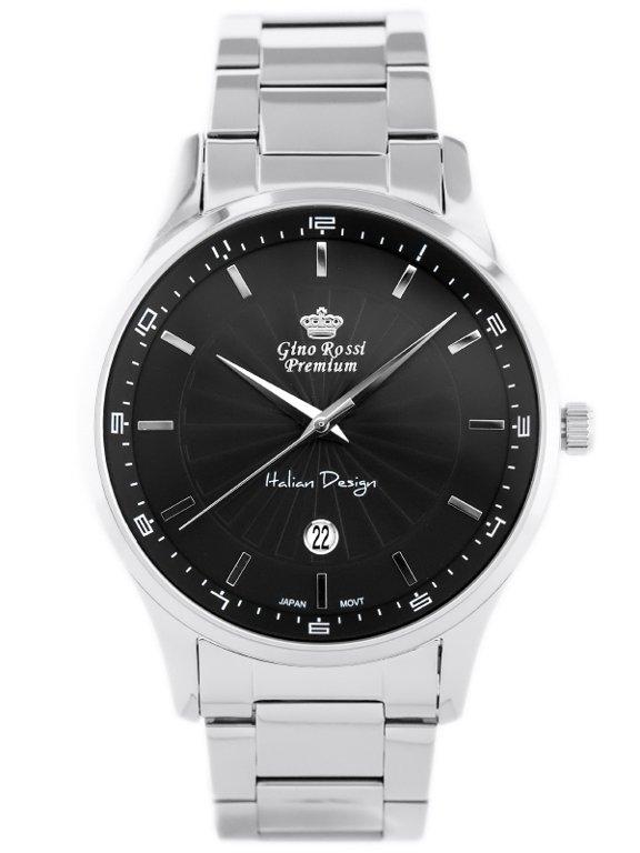 8331beff994f7 GINO ROSSI S8886B - PREMIUM (zg219b) Srebrny | MĘSKIE \ PRODUCENCI \ Gino  Rossi MĘSKIE \ STYL \ Eleganckie | Tayma - najładniejsze zegarki w sieci!
