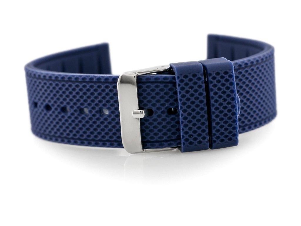 cedf7f92608d4a Pasek gumowy do zegarka 902N - granat - 22mm Niebieski   AKCESORIA \ PASKI    Tayma - najładniejsze zegarki w sieci!