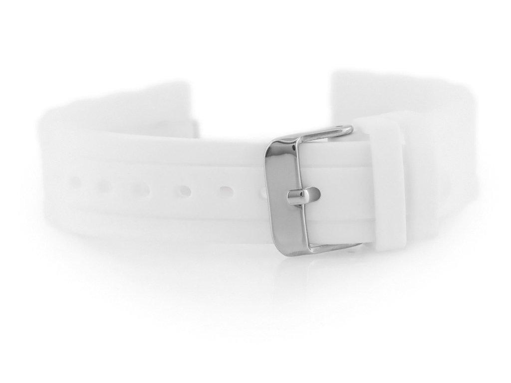 d18c92ec11d6e8 Pasek gumowy do zegarka 904W - karbowany - 22mm Biały   AKCESORIA \ PASKI    Tayma - najładniejsze zegarki w sieci!
