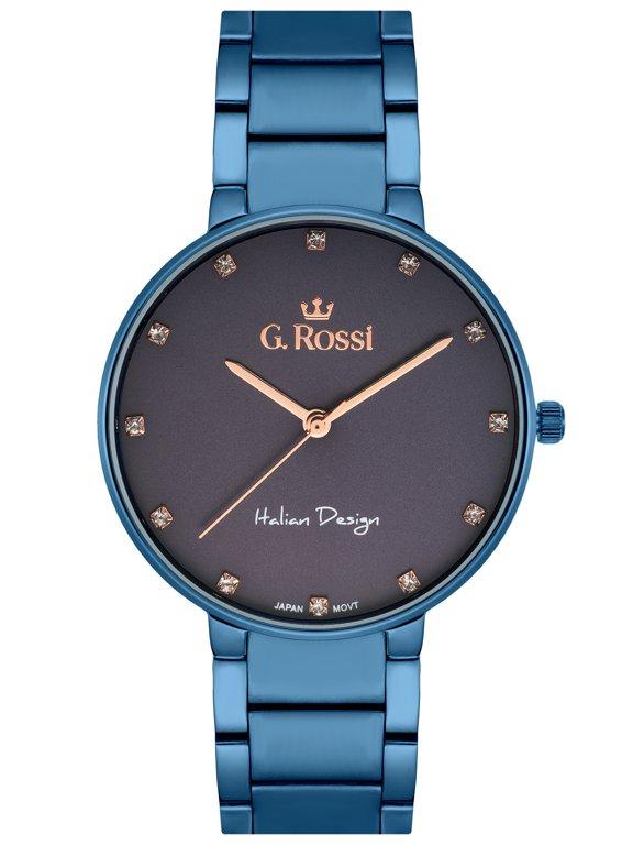aff4cb976b766 Zegarek GINO ROSSI - 11155B2-6F3 (zg784g) blue Niebieski | DAMSKIE \  PRODUCENCI \ Gino Rossi DAMSKIE \ STYL \ Eleganckie | Tayma - najładniejsze  zegarki w ...
