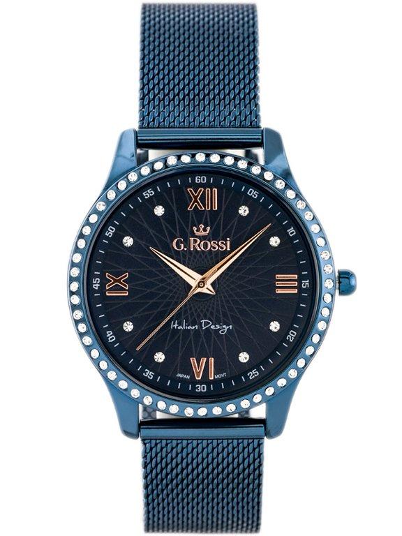 f84193eb5c76e Zegarek GINO ROSSI 6748B-6F3 (zg788f) blue Niebieski | DAMSKIE \ PRODUCENCI  \ Gino Rossi DAMSKIE \ STYL \ Eleganckie DAMSKIE \ STYL \ Casual | Tayma ...