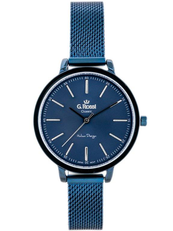 bdb1ec7bd14ee Zegarek GINO ROSSI - C11760B-6F1 (zg778e) blue Niebieski | DAMSKIE \  PRODUCENCI \ Gino Rossi DAMSKIE \ STYL \ Eleganckie DAMSKIE \ STYL \ Casual  | Tayma ...