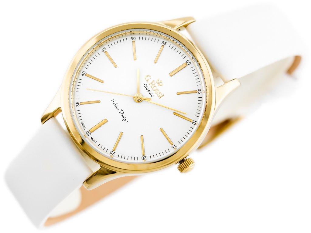 c6c082122ee15 ... Zegarek GINO ROSSI - C11765B-3C2 (zg779a) white/g. Kliknij, aby  powiększyć ...