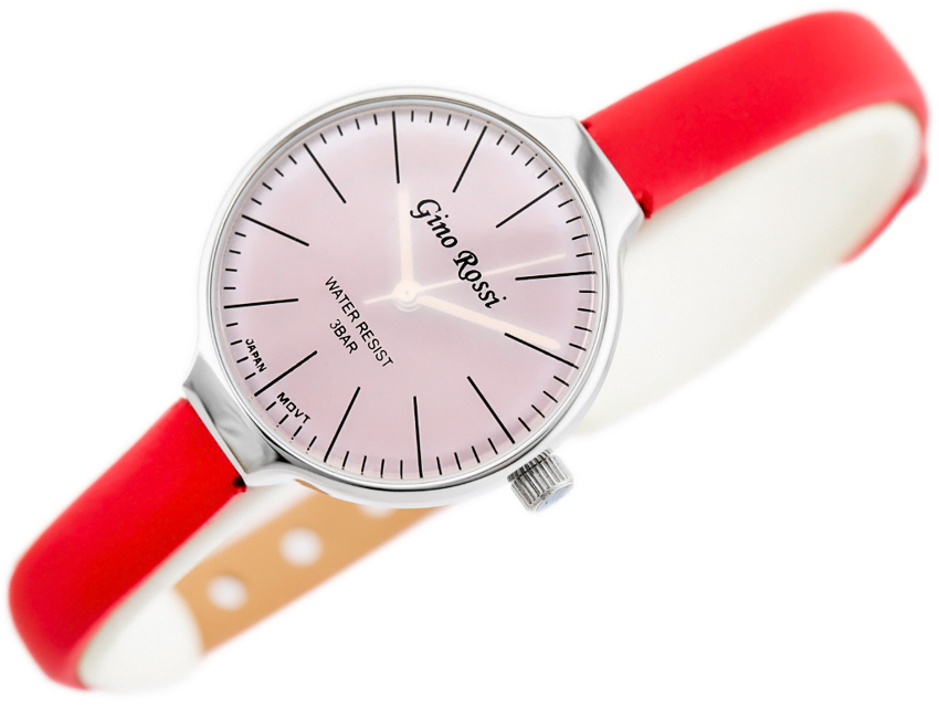 GINO ROSSI - 8883A (zg558d) silver/red