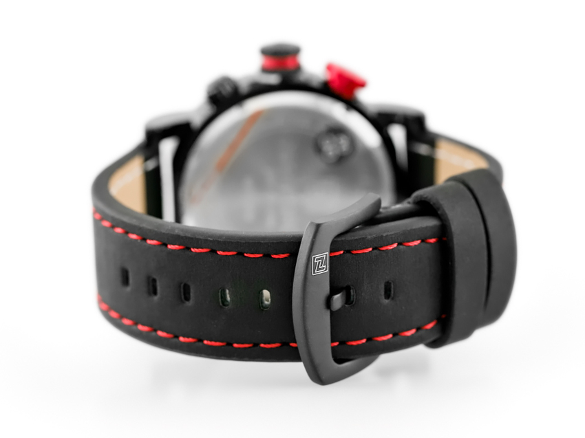 ZEGAREK MĘSKI NAVIFORCE - NF9094 (zn042b) - black/red