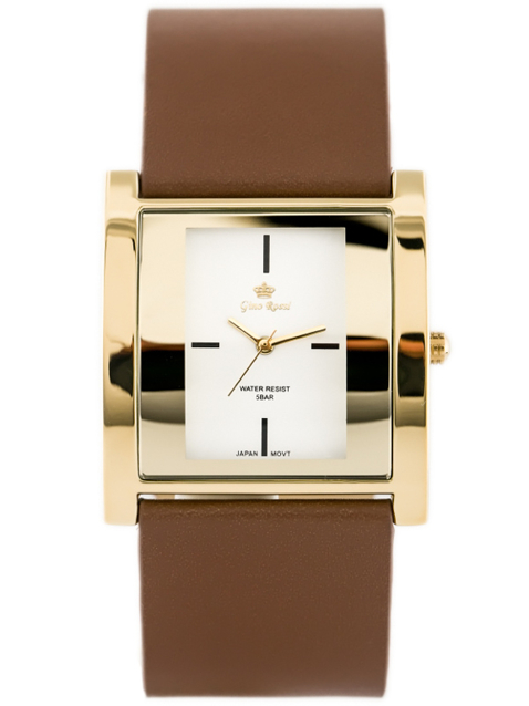 ZEGAREK GINO ROSSI - DAFNE (zg576e) brown/gold + BOX
