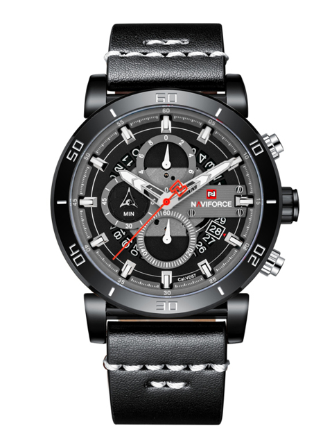 Zegarek NAVIFORCE - NF9131 (zn086b) black/g. + BOX