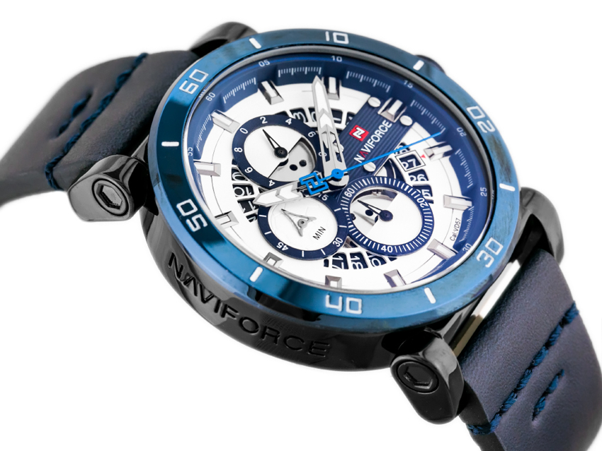 Zegarek NAVIFORCE - NF9131 (zn086e) blue + BOX